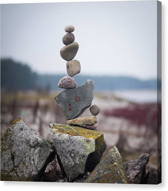 Balancing Art #30 Canvas Print
