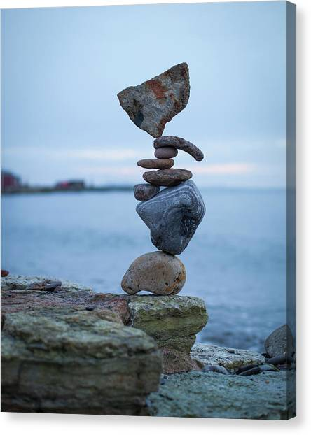 Balancing Art #31 Canvas Print