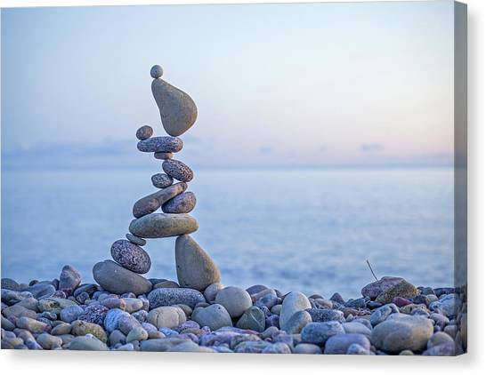Balancing Art #33 Canvas Print