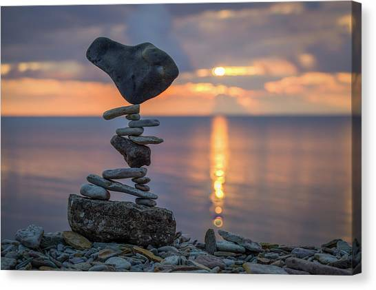 Balancing Art #36 Canvas Print