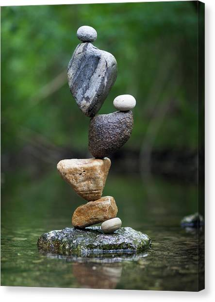 Balancing Art #38 Canvas Print