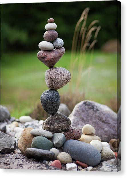 Balancing Art #39 Canvas Print