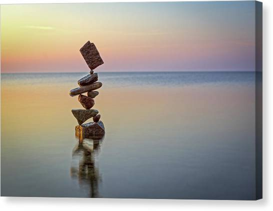 Balancing Art #4 Canvas Print