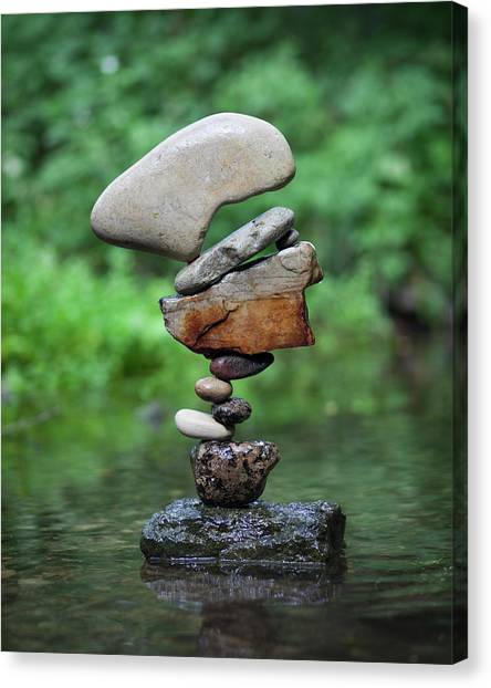 Balancing Art #40 Canvas Print
