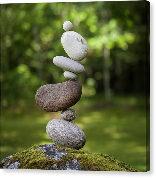 Balancing Art #41 Canvas Print
