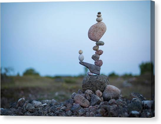 Balancing Art #43 Canvas Print