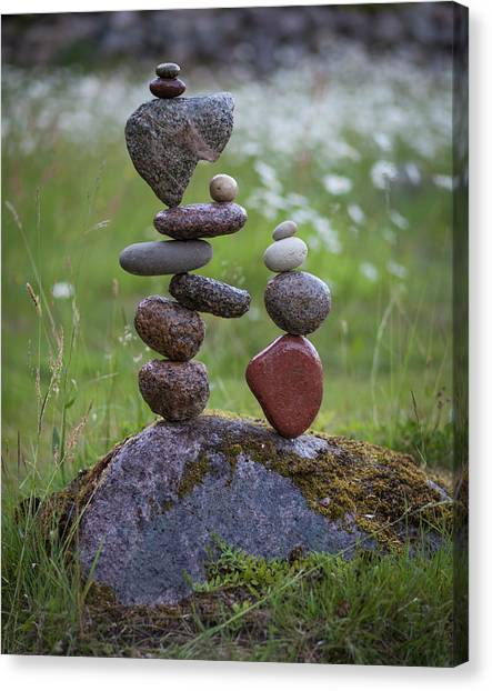 Balancing Art #45 Canvas Print
