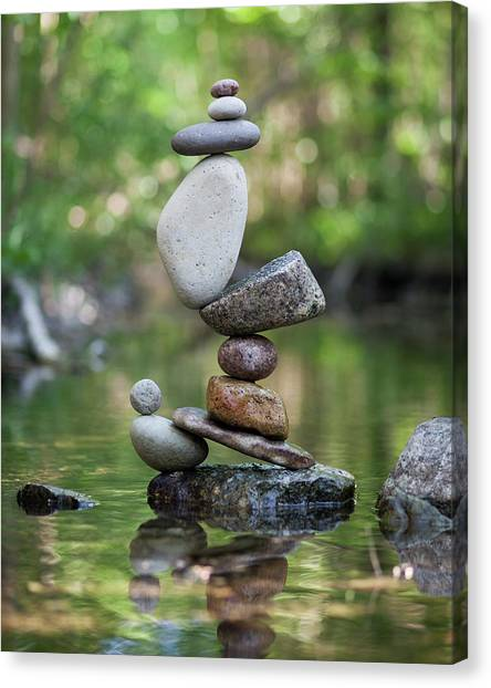 Balancing Art #47 Canvas Print