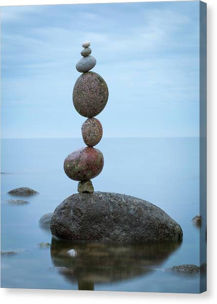Balancing Art #48 Canvas Print