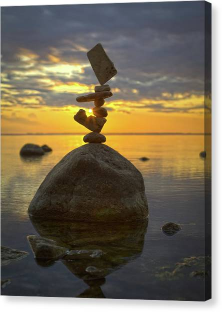 Balancing Art #52 Canvas Print