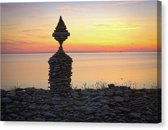 Balancing Art #57 Canvas Print