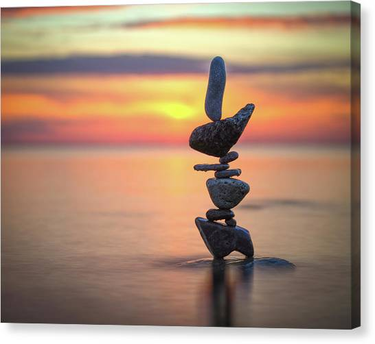 Balancing Art #6 Canvas Print