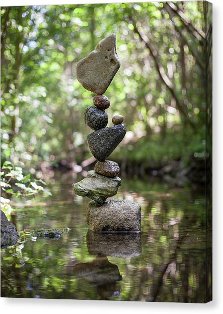 Balancing Art #61 Canvas Print