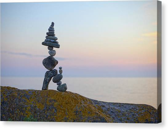 Balancing Art #64 Canvas Print