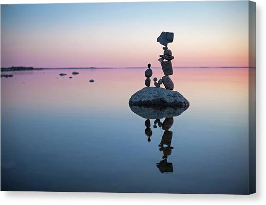 Balancing Art #65 Canvas Print