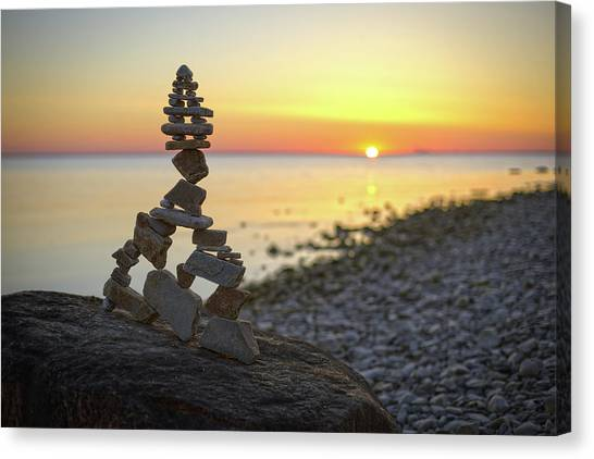 Balancing Art #66 Canvas Print