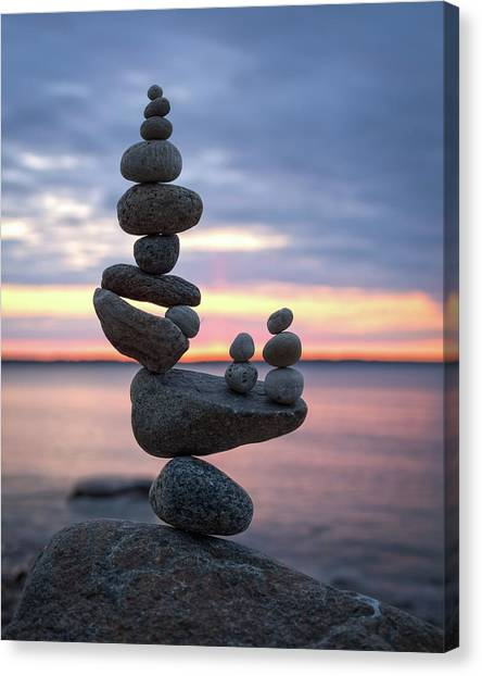 Balancing Art #67 Canvas Print