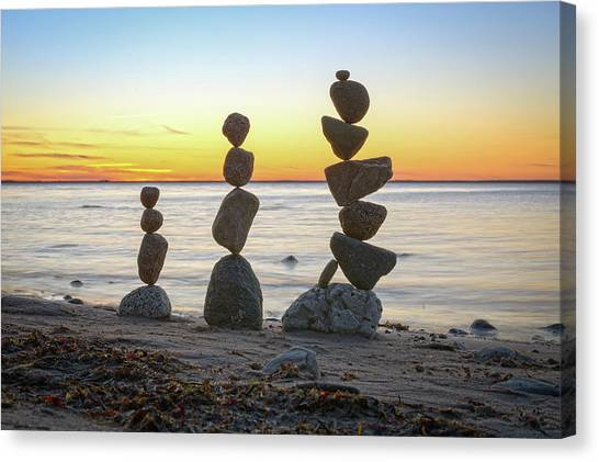 Balancing Art #68 Canvas Print