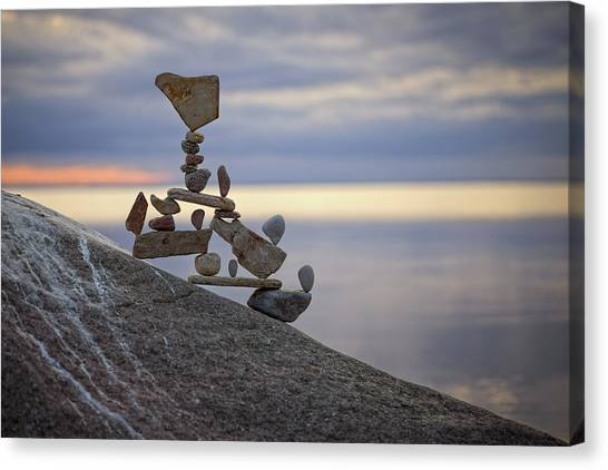 Balancing Art #7 Canvas Print