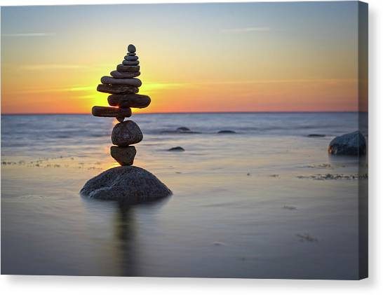 Balancing Art #8 Canvas Print