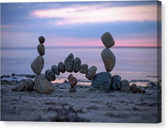 Balancing Art #9 Canvas Print
