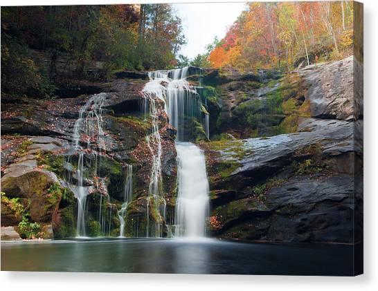 Bald River Falls Basin Canvas Print