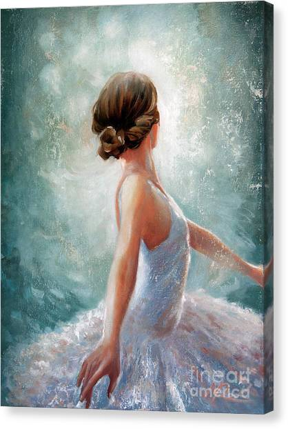 Ballerina Dazzle Canvas Print