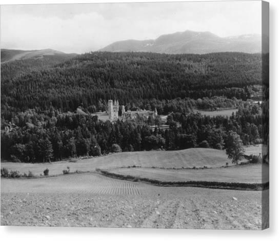 Balmoral Castle Canvas Print by Fox Photos