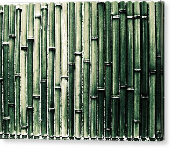 M.a Canvas Print - Bamboo Wall by M.taka