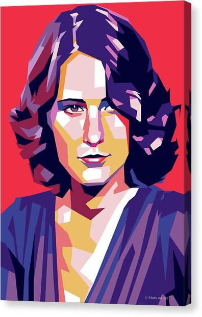 Barbara Stanwyck Canvas Print