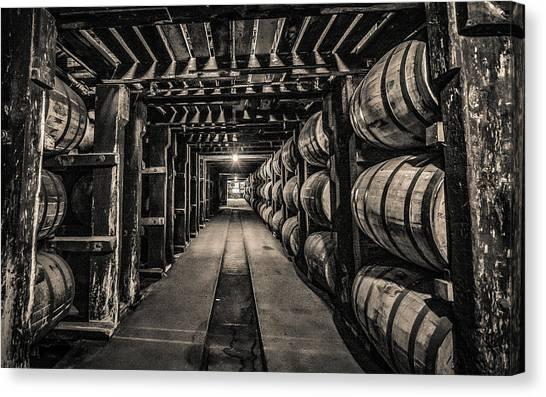 Barrel Aging Bourbon Canvas Print