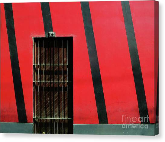 Bars And Stripes Canvas Print