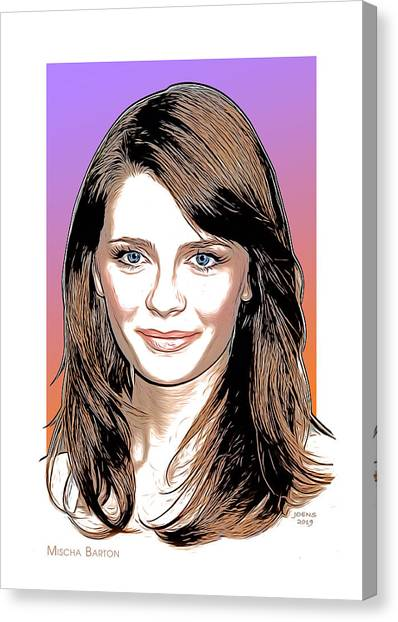 Media Canvas Print - Barton Portrait by Greg Joens
