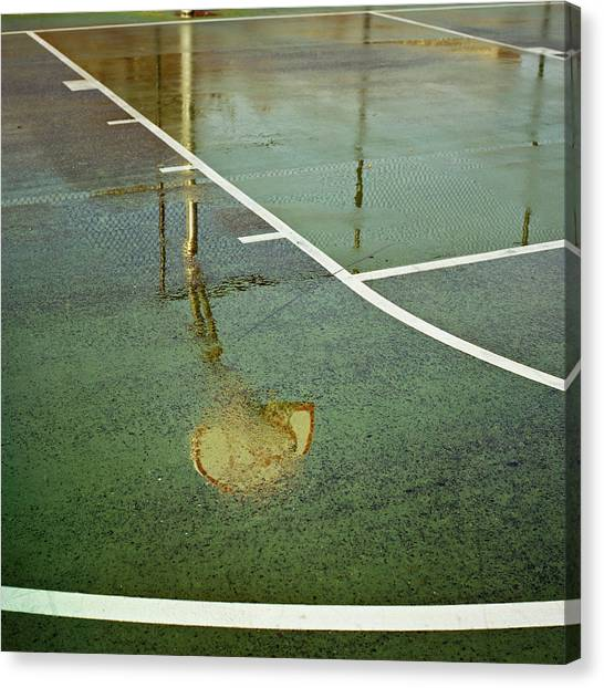 Basketball Hoop Canvas Print