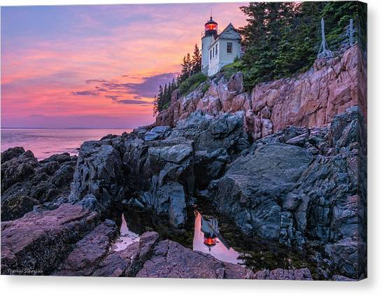 Bass Head Lighthouse - Acadia Canvas Print