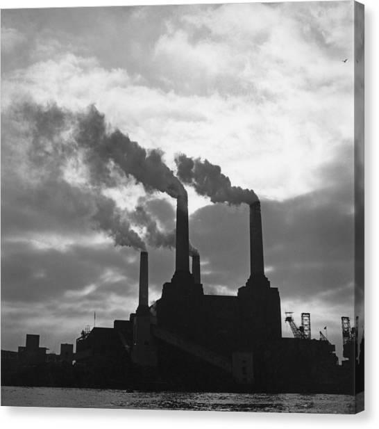Battersea Power Station Canvas Print by George Freston