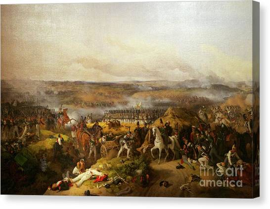 State Hermitage Canvas Print - Battle Of Borodino, by Peter Barritt