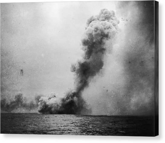 Battle Of Jutland Canvas Print by Fotosearch