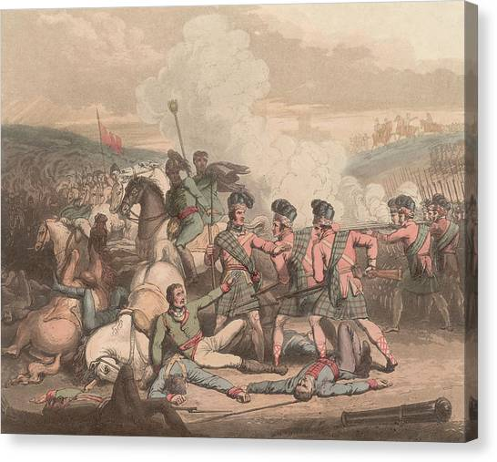 Battle Of Vimeiro Canvas Print by Hulton Archive