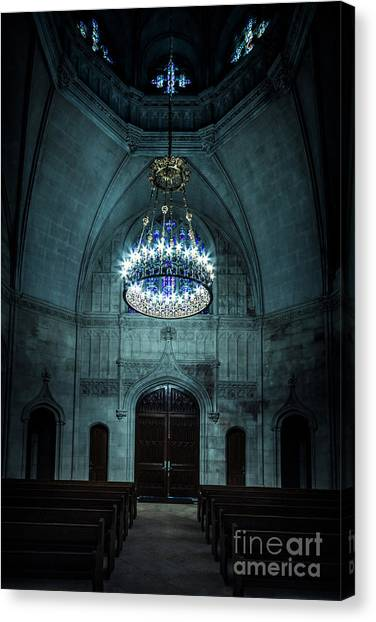 Chapel Canvas Print - Be The Light by Evelina Kremsdorf