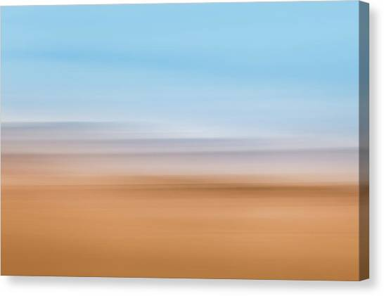 Beach Abstract Canvas Print