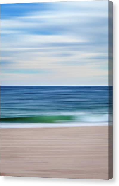 Beach Blur Canvas Print