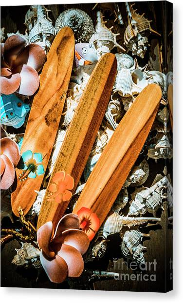 Hibiscus Canvas Print - Beach Boards by Jorgo Photography - Wall Art Gallery