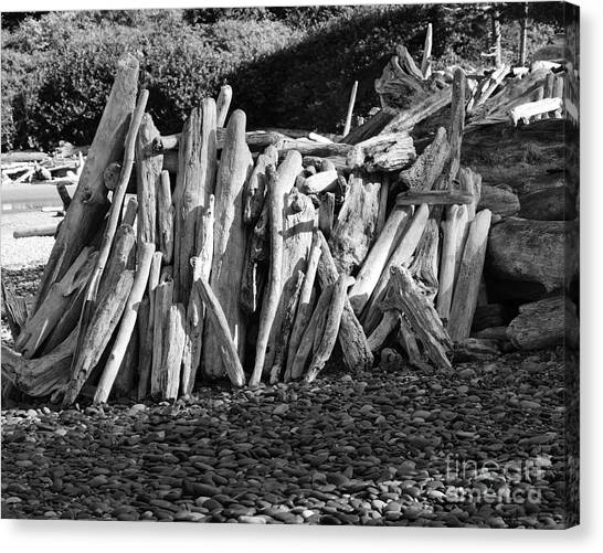 Beach Fort 2 Canvas Print