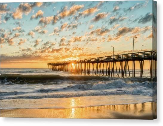 Beaching It Canvas Print