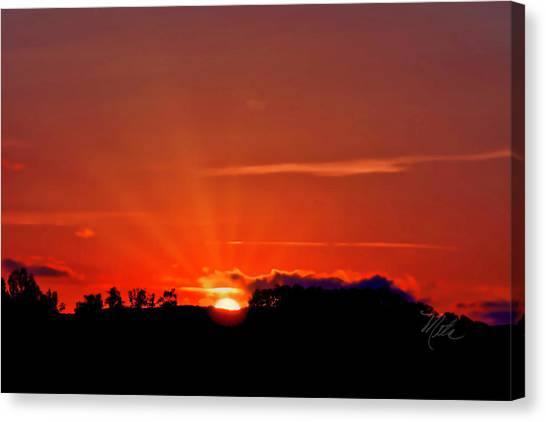 Beacon Heights Sunrise Canvas Print