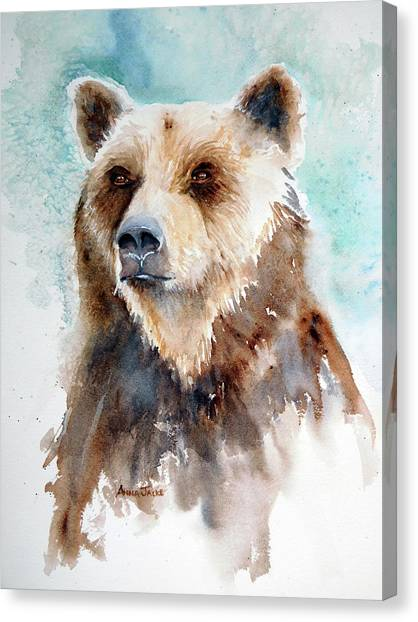 Bear Essentials Canvas Print