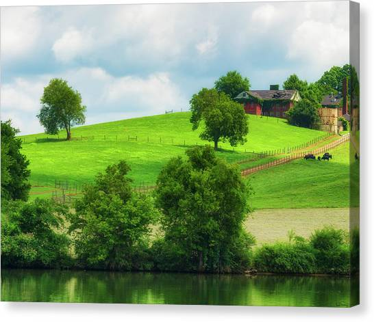 Beautiful Tennessee Countryside Canvas Print