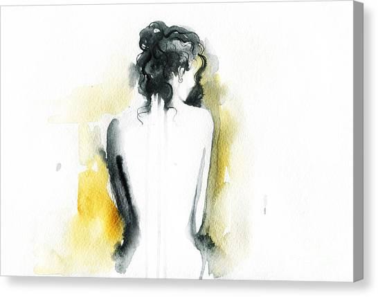 Sensual Canvas Print - Beautiful Woman Body. Abstract by Anna Ismagilova