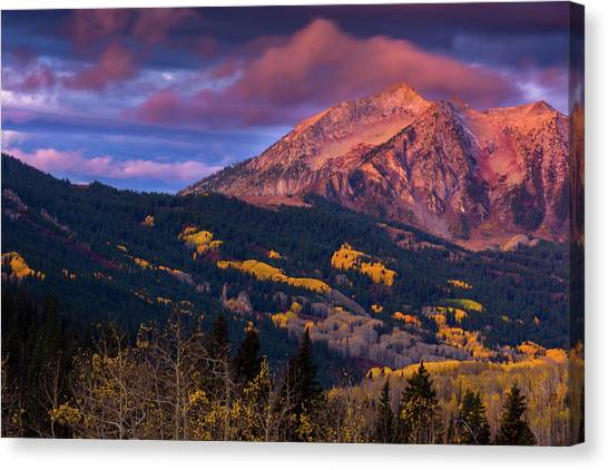 Beckwith At Sunrise Canvas Print